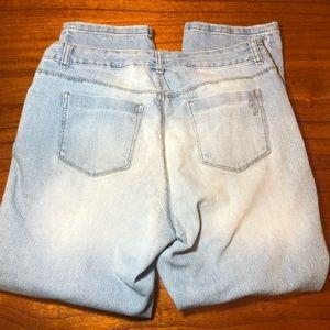 Style & Co Jeans - Style & co distressed boyfriend jeans